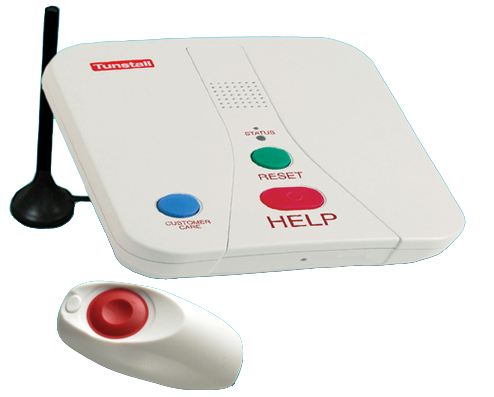 Tunstall Medic Alert System By Centurion Alarm And Lock In