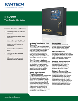 Kantech Commercial Card Access PDF