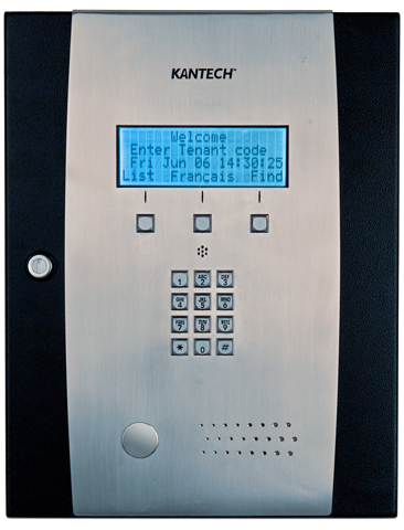 Kantech Commercial Intercom