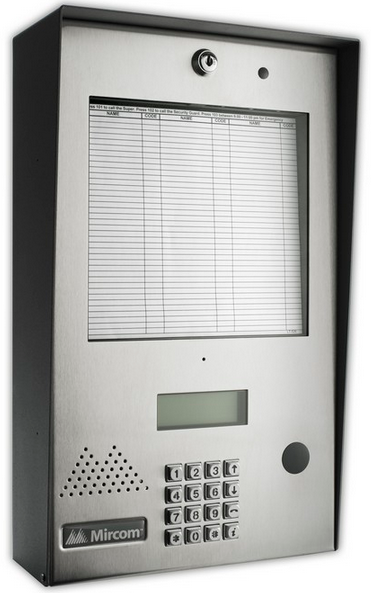 Mircom TX3 commercial Intercom System